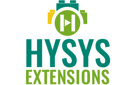 HYSYS extensions simulation models