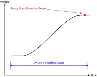 Comparison of Steady State and Dynamic Model Scopes