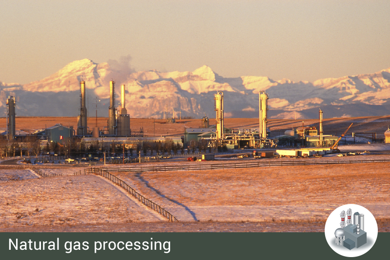 Category Natural gas processing