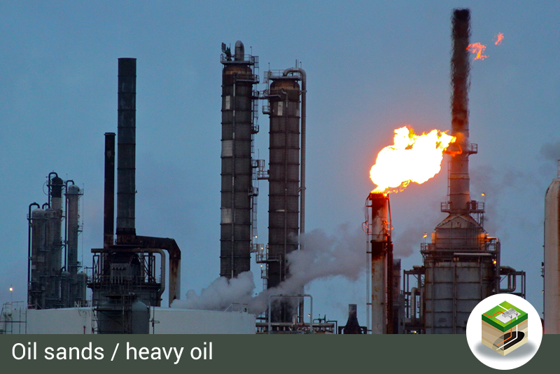 Category Oil sands / heavy oil