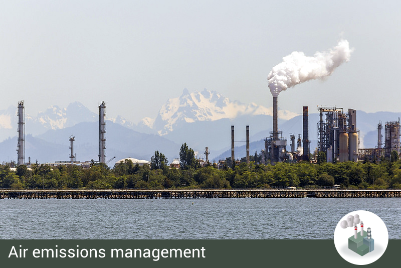 Category Air emissions management